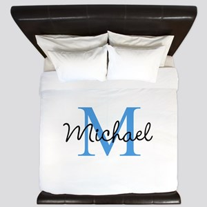 Personalize Iniital, and name King Duvet