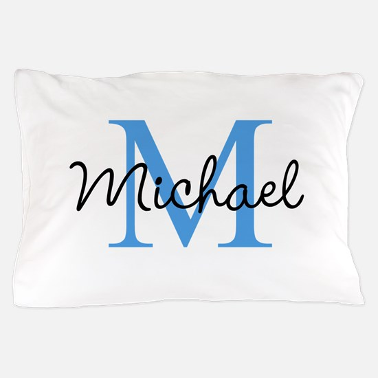 Personalize Iniital, and name Pillow Case