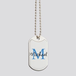 Personalize Iniital, and name Dog Tags