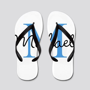 Personalize Iniital, and name Flip Flops