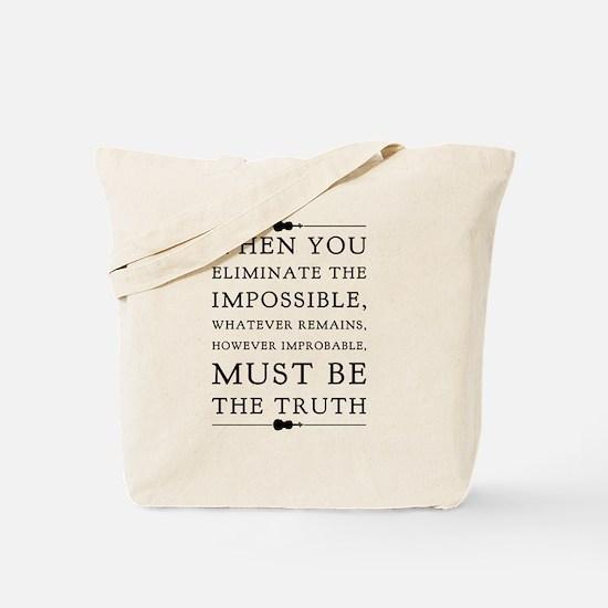 Unique Sherlock holmes Tote Bag