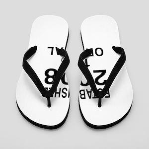 Established 2008 Flip Flops