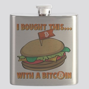 I Bought This Burger With A Bitcoin Flask