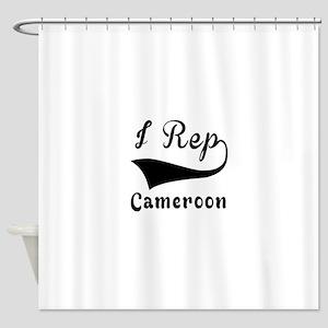 I Rep Cameroom Shower Curtain