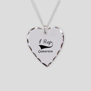I Rep Cameroom Necklace Heart Charm
