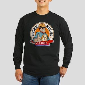Bitcoin ML Logo Long Sleeve T-Shirt