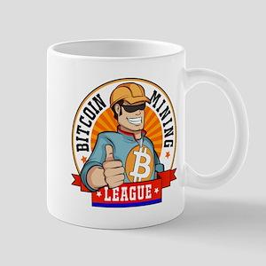 Bitcoin Mining League BML Badge Logo Mugs