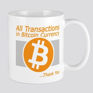All Transaction in Bitcoin Currency Mugs