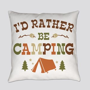 Rather Be Camping T1 Everyday Pillow