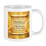 Thank God Mug