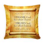 Thank God Everyday Pillow
