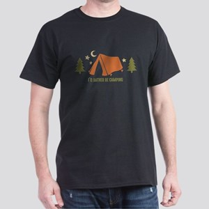 Rather Be Camping T3 Dark T-Shirt