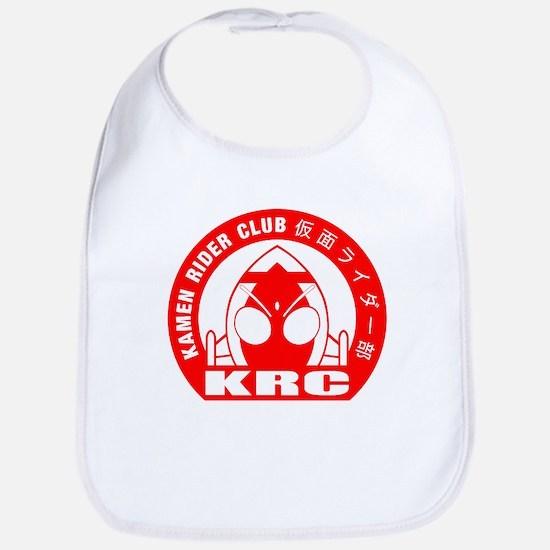 Kamen Rider Club Logo Red Baby Bib
