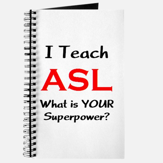 teach asl Journal