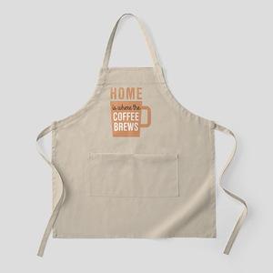 Home Coffee Brews Apron