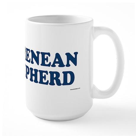 PYRENEAN SHEPHERD Large Mug