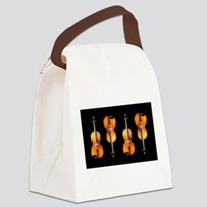 Violas-ViolinsRug Canvas Lunch Bag