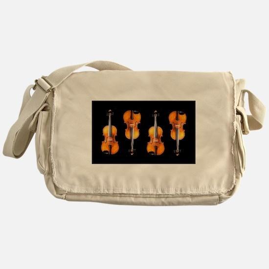 Violas-ViolinsRug.png Messenger Bag