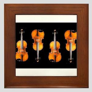 Violas-ViolinsRug Framed Tile