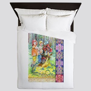 Hansel and Gretel art Queen Duvet
