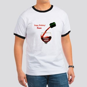 Custom Vintage Wine T-Shirt