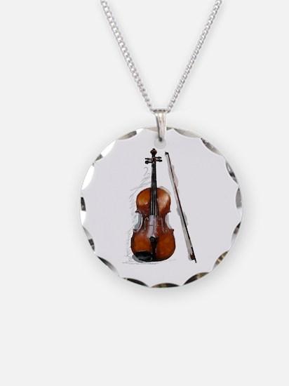 Viola06.jpg Necklace Circle Charm