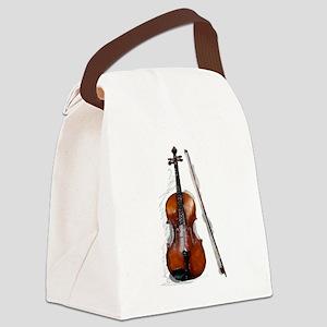 Viola06 Canvas Lunch Bag