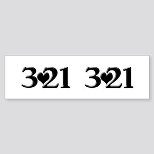 3-21 Down Syndrome Awareness Bumper Sticker