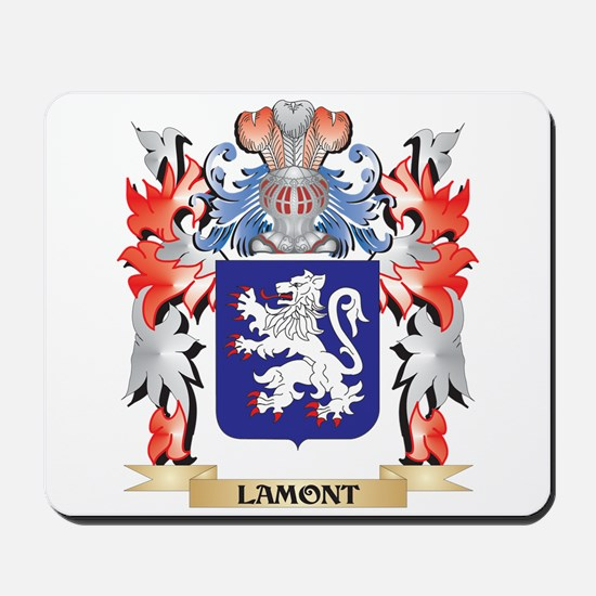 Lamont Coat of Arms - Family Crest Mousepad