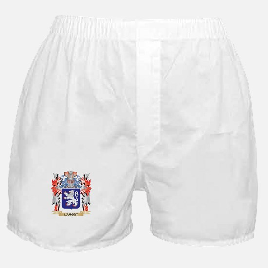 Lamont Coat of Arms - Family Crest Boxer Shorts