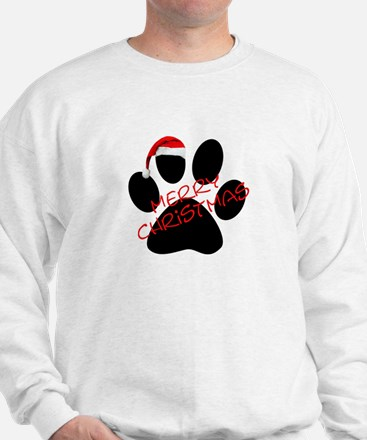 Cute Dog Paw Print Jumper