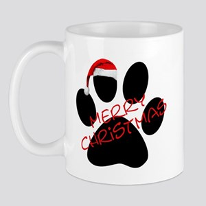 Cute Dog Paw Print Mug