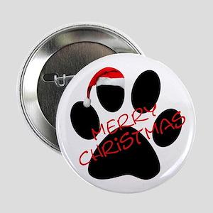 """Cute Dog Paw Print 2.25"""" Button"""