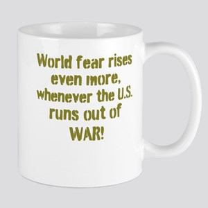 World Fear Rises Mugs