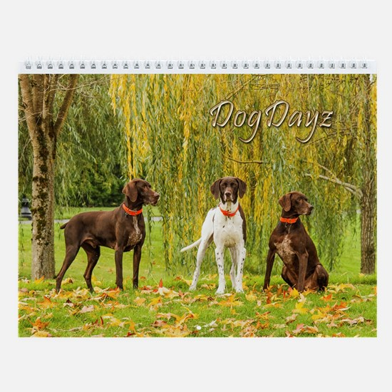 2017 Dogdayz Wall Calendar