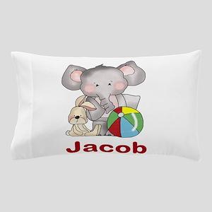 Jacob's Elephant Baby Pillow Case