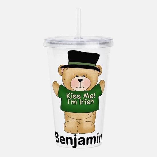 Benjamin's Irish Bear Acrylic Double-wall Tumbler