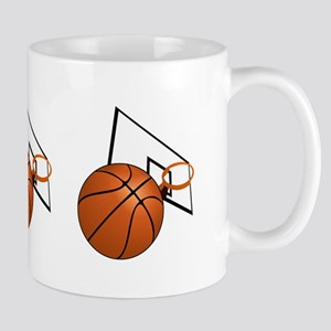 Basketball and Hoop Mugs