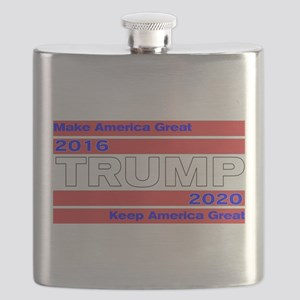 Trum 2016-2020 Make and Keep US Great Flask