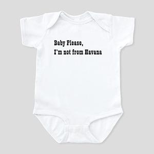 Baby please... Infant Bodysuit