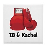 Boxing Tile Coasters