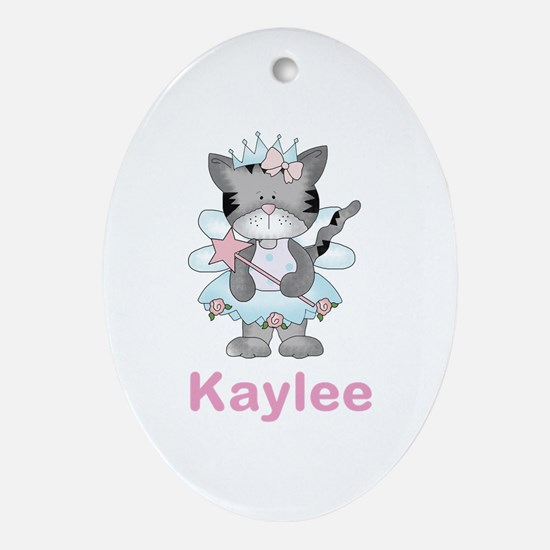 Kaylee's Fairy Kitten Oval Ornament