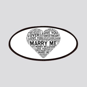 Marry Me Heart Patch