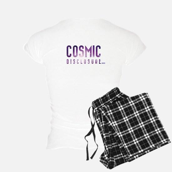 Cosmicdisclosure.com Image On Back Womens Pajamas