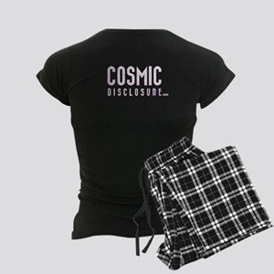 Cosmicdisclosure.com Image On Back Womens Pajamas