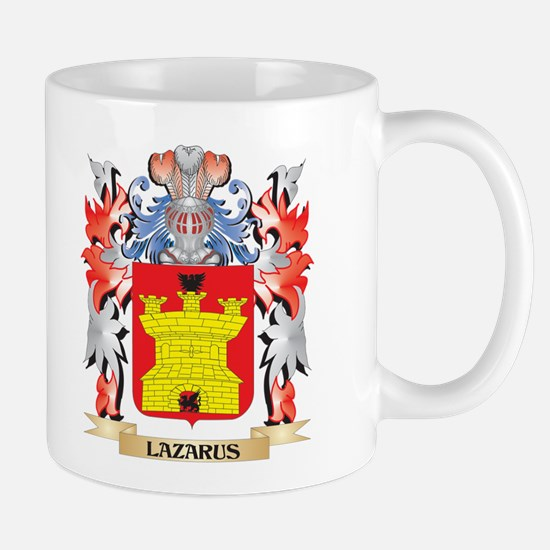 Lazarus Coat of Arms - Family Crest Mugs