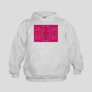 hot pink glitter Sweatshirt
