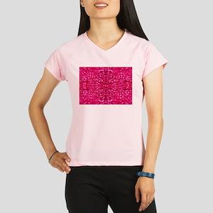 hot pink glitter Performance Dry T-Shirt
