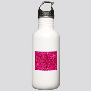 hot pink glitter Stainless Water Bottle 1.0L