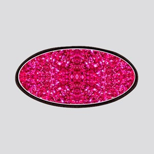 hot pink glitter Patch